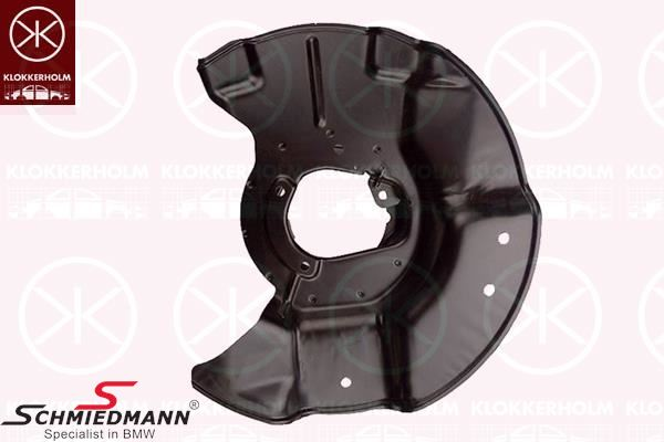 Brake protection plate front L.-side