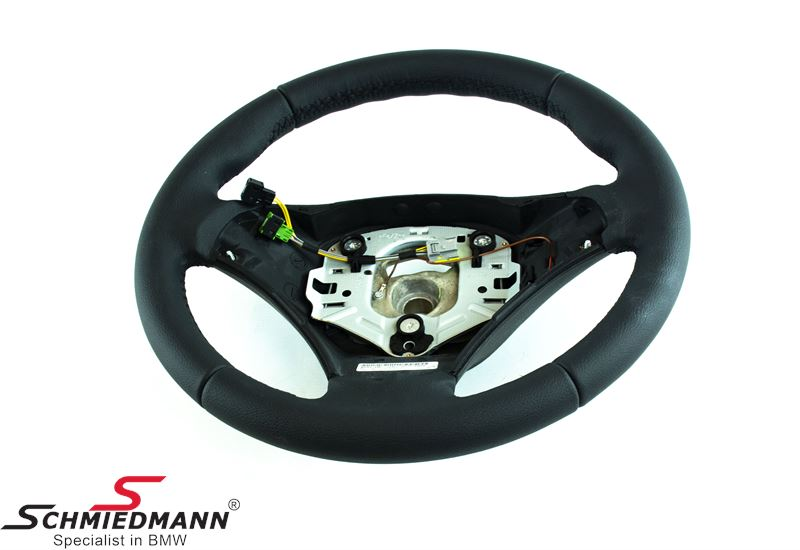 1e270d00d20 Sport leather steering wheel - original BMW (Airbag not included)