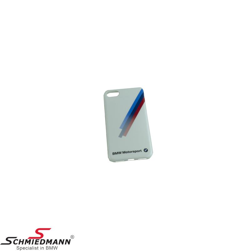 iPhone 7 BMW Motorsport hard cover, white