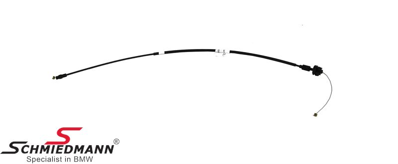 Accelerator bowden cable