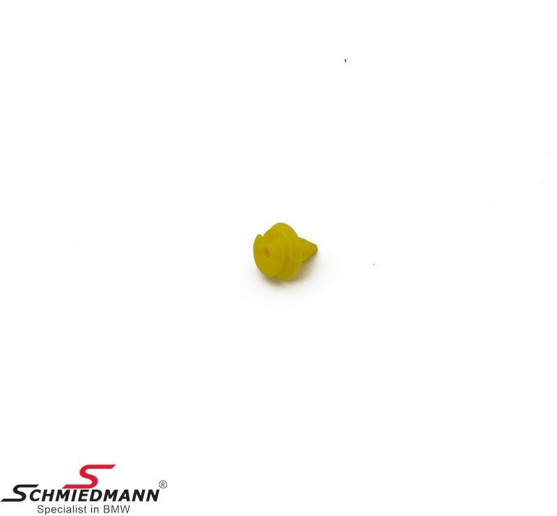 Klips gul til dørbeklædninger for