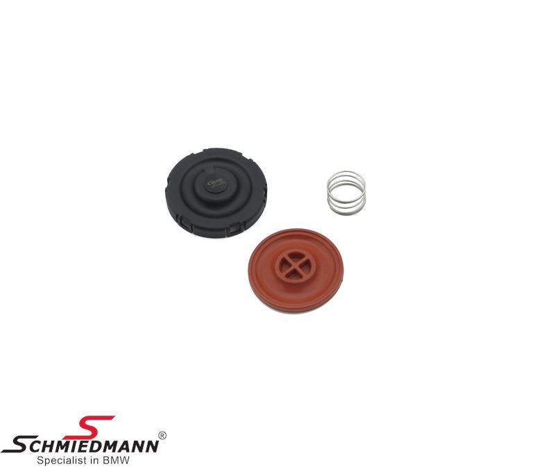 Crankcase ventilation valve in cylinder head cover (Not available as original, as original you must buy a complete cylinder head cover)