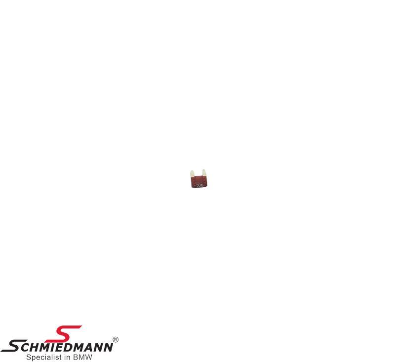 Sikring mini, brun 7,5A