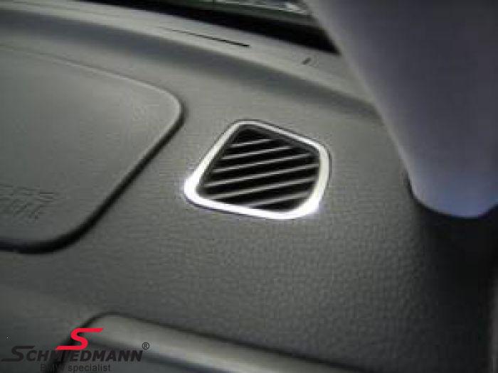 Krom afdæknings-sæt til ventilations skakte i kabinen