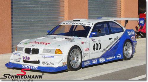 Frontspoiler bred -GTR- kulfiber (carbon)