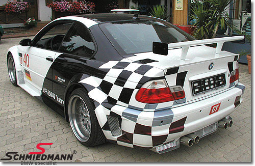 Rear skirt wide -GTR-