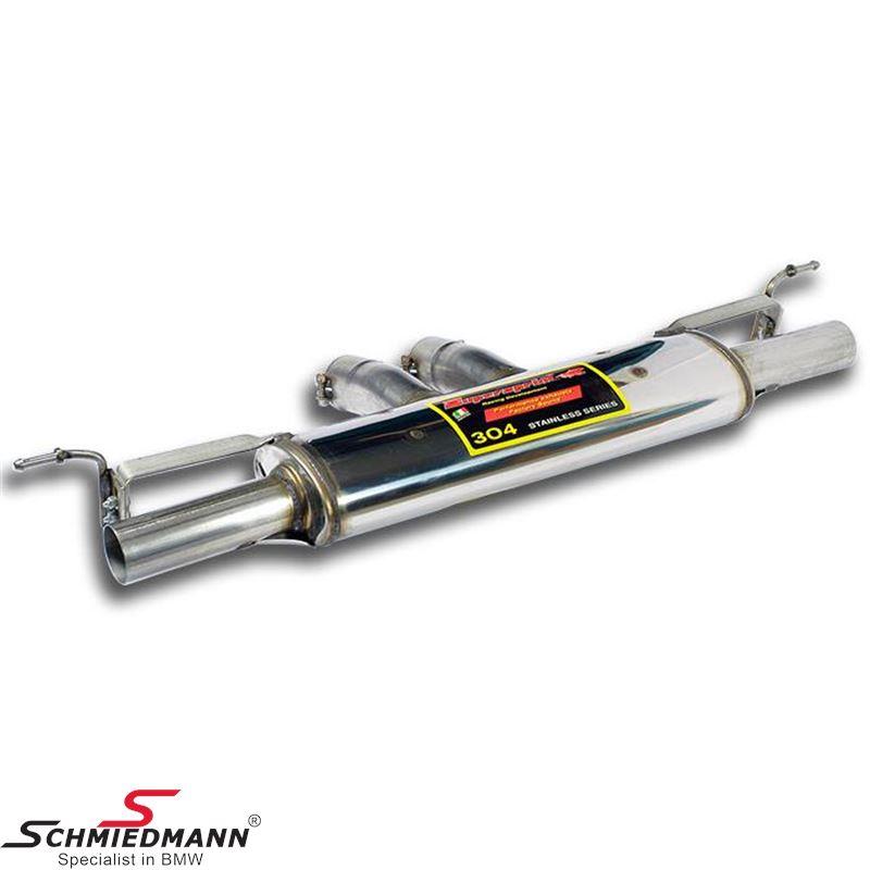 Sportsbagpotte Supersprint -Racing- med afgang H.+V.-side (Rørhaler medfølger ikke, og skal tilkøbes separat)