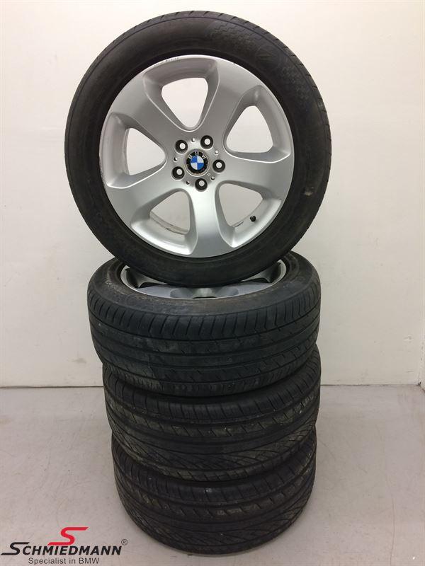 """19"""" org. BMW fælge med dæk """"Sternspeiche 132"""""""