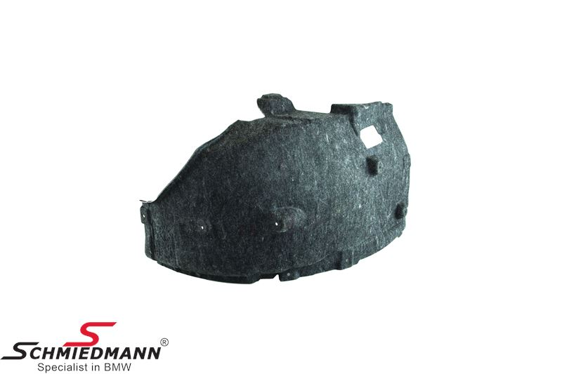 Cover wheel housing front, front part R.-side