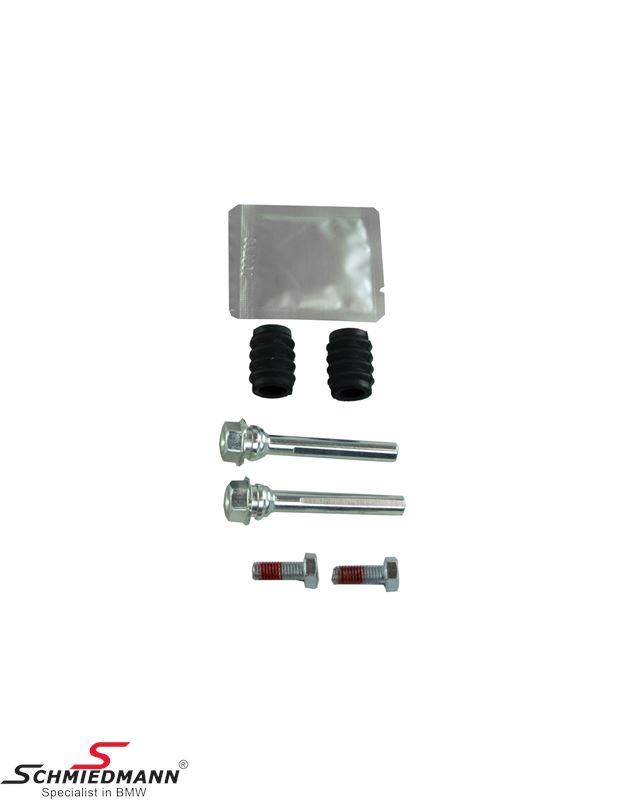 Guiding bolt repair kit for rear brake calipers