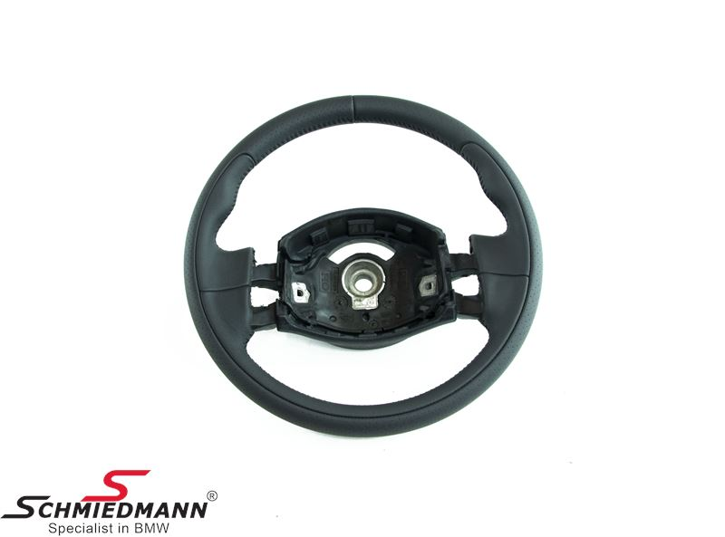 Sport steering wheel -Cooper S- leather without airbag