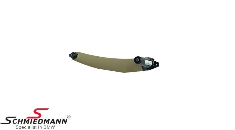 Træk-håndtag til dørbeklædning, inderste del V.-side, Savannabeige (Passer både til for- eller bagdør)