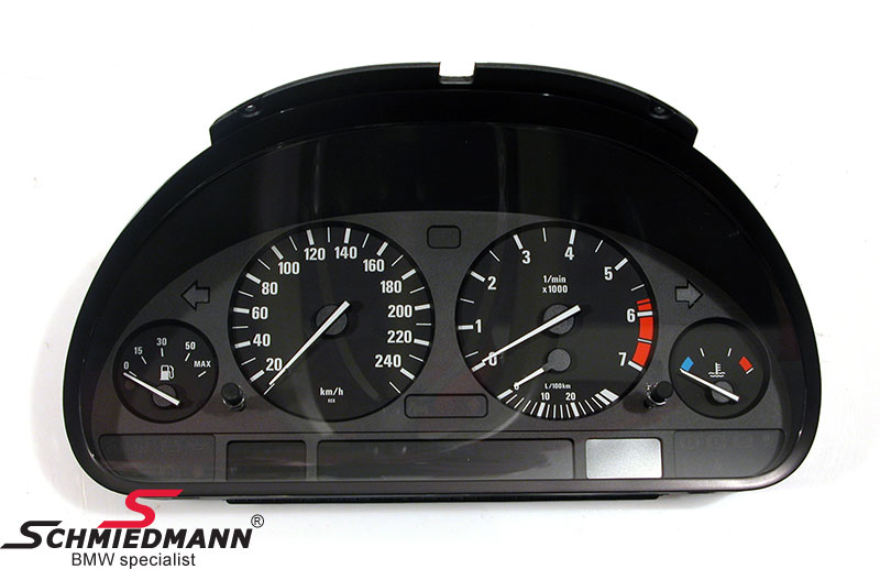 Instrument cluster uncoded complete exchange (must be prepaid)