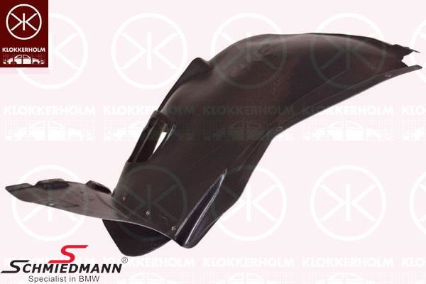 Cover wheel housing front the part foremost towards the frontbumper L.-side