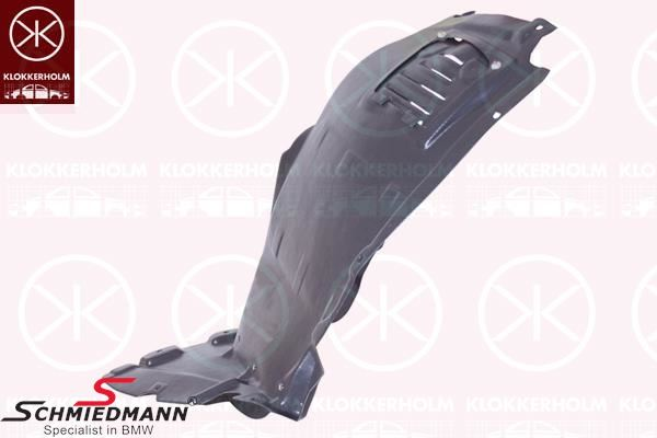 Cover wheel housing front, front lower part L.-side (For models with standard front bumper)