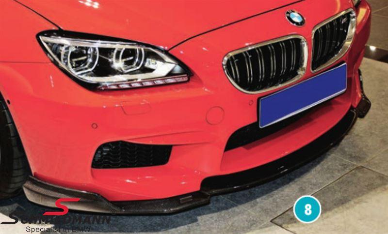Rieger frontspoilerlæbe -Racelook-  til original M6 frontspoiler