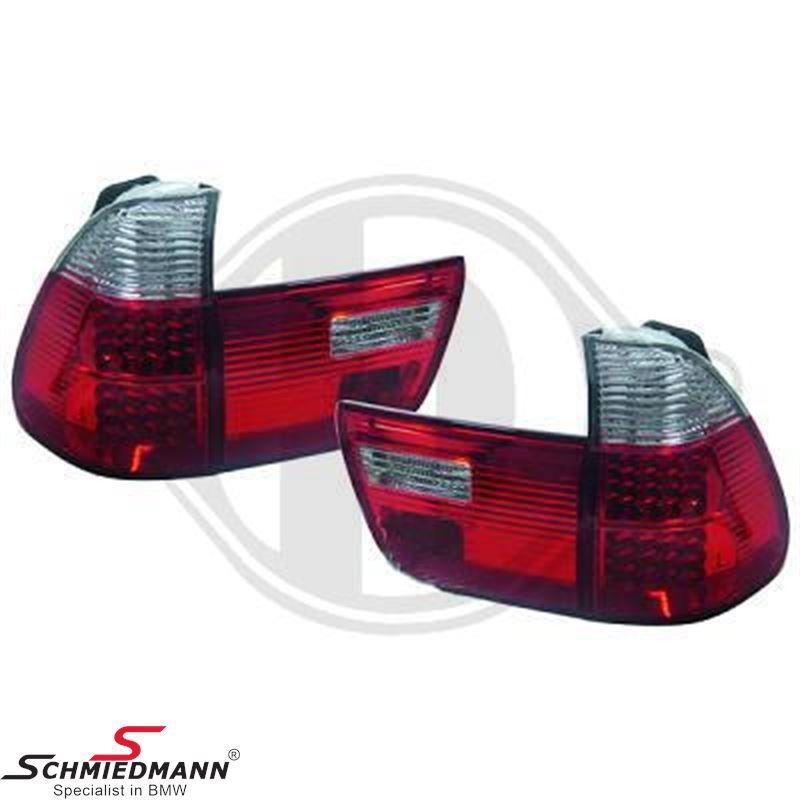 Baglygter LED rød/hvide upgrade