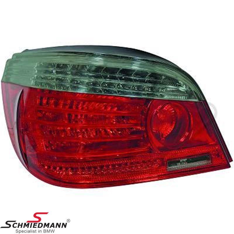 Baglygter facelift rød/hvide LED, W16W, P21W