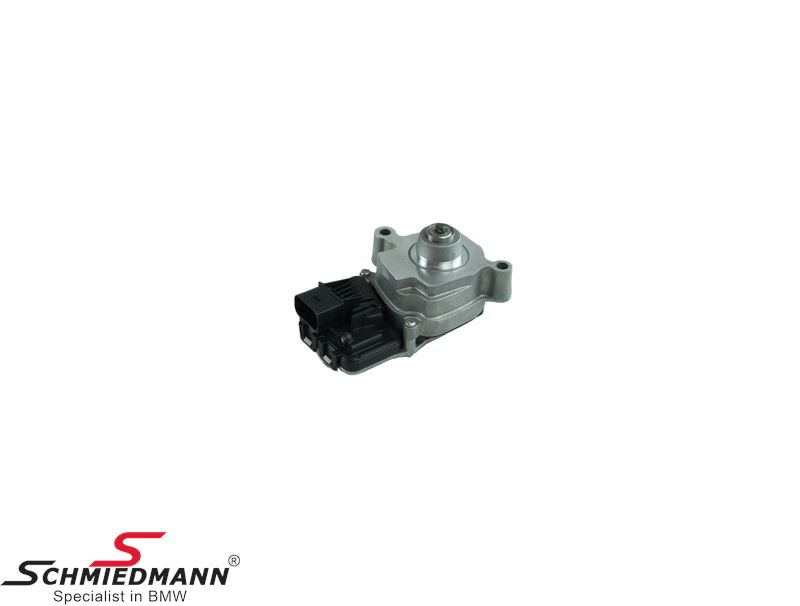 Longitudinal torque module for transfer case