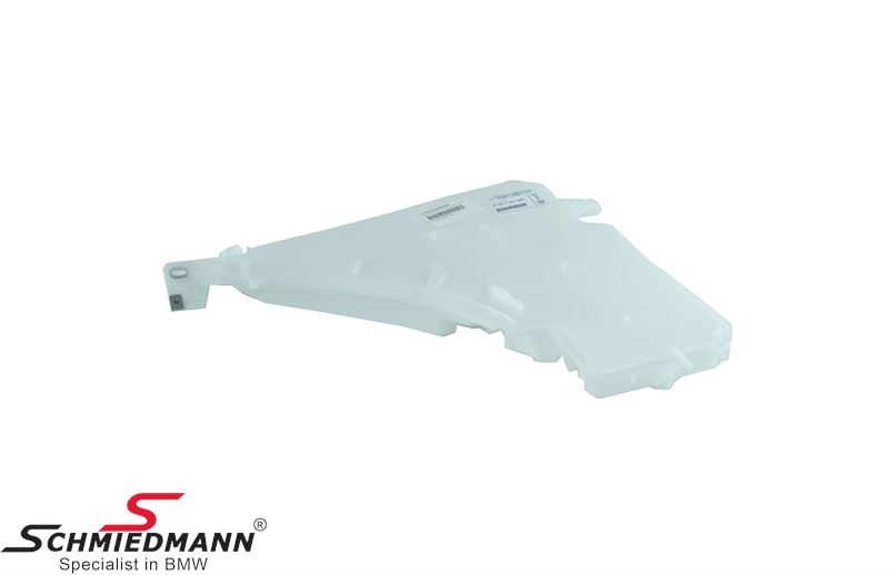 Washer fluid reservoir with integrated level sensor (For models with headlight washer)