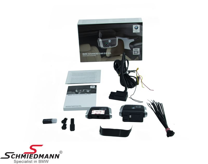 Driving and surveillance camera front+rear, Basis kit - original BMW Advanced Car Eye 2.0