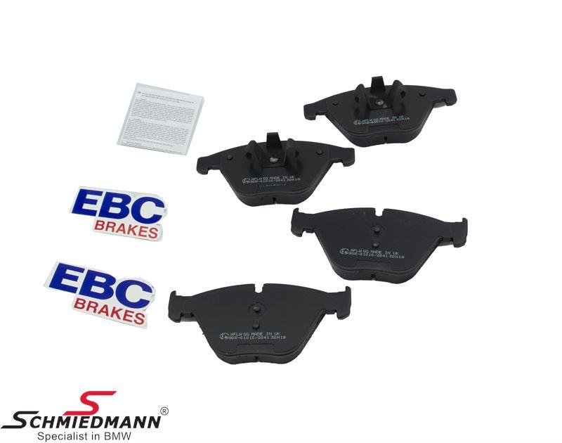 Bromsbelägg fram - EBC Ultimax