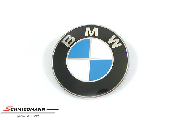 Emblem hood/trunk lid BMW 82MM