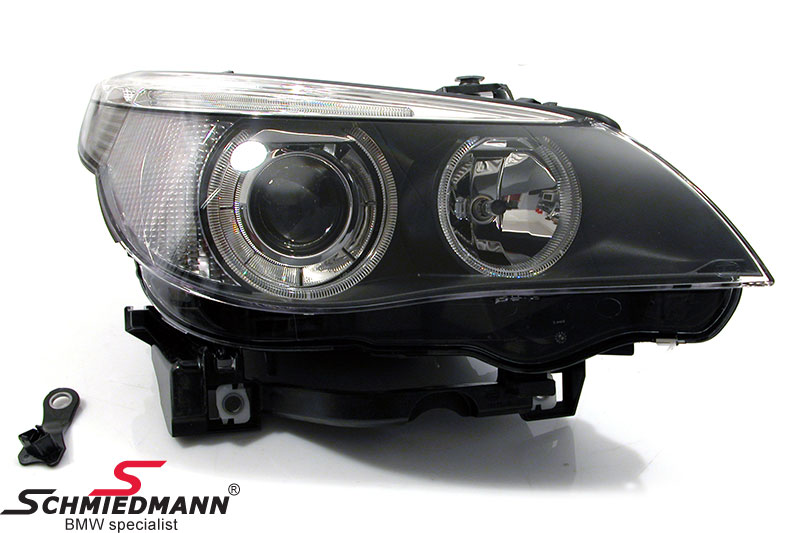 Headlight R.-side with bi-xenon without adaptive light Hella (original)