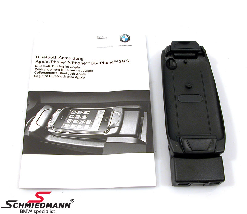 Snap in adapter for iPhone 3G original BMW