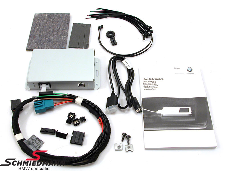 IPOD connection installation kit original BMW