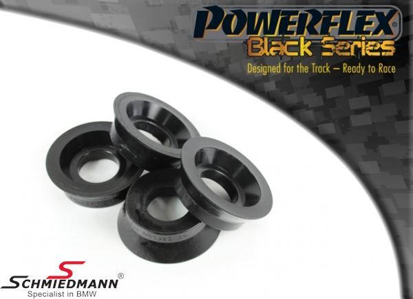 Powerflex racing -Black Series- bagsvingarms-bøsnings-indsatser (bøsninger til montering i de originale bøsninger) (Diagram reference 10)
