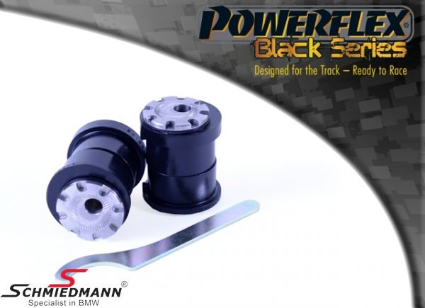 Powerflex racing -Black Series- front arm (wishbone) inner bush set, camber adjustable +/- 0.75 degrees (Pos. 1 on diagram)