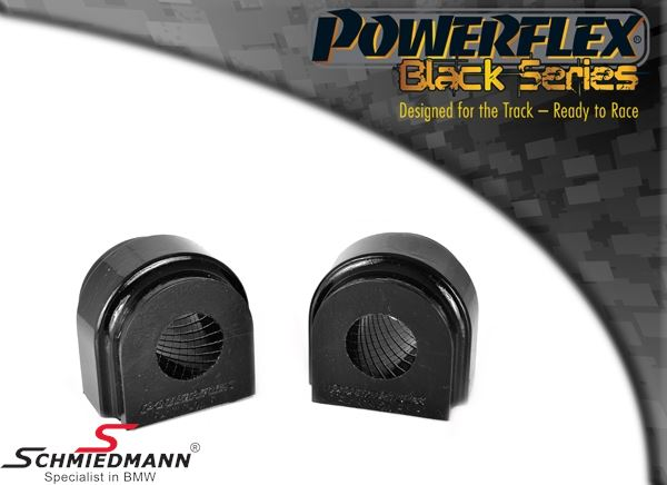 Powerflex racing -Black Series- stabilizer bush-set front 24,5MM (Diagram ref. 2)