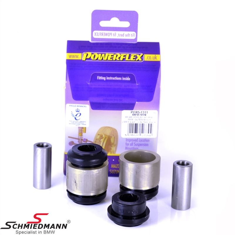 Powerflex racing bushing bak undre lateral arm outer (Diagram ref. 11)