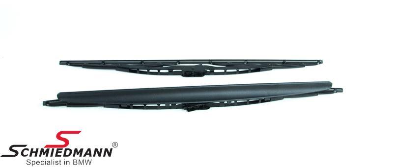 Wiper blade set with spoiler - original BMW