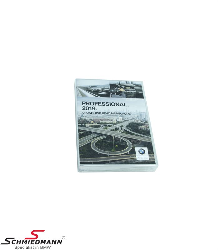 Navigation Professional update-DVD original BMW Europe 2019