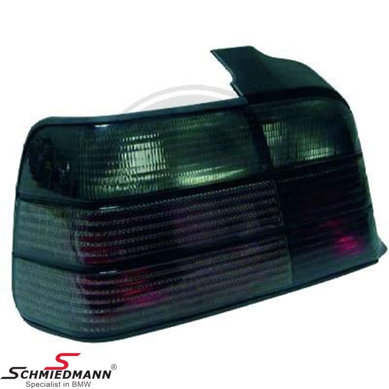 Taillight set black
