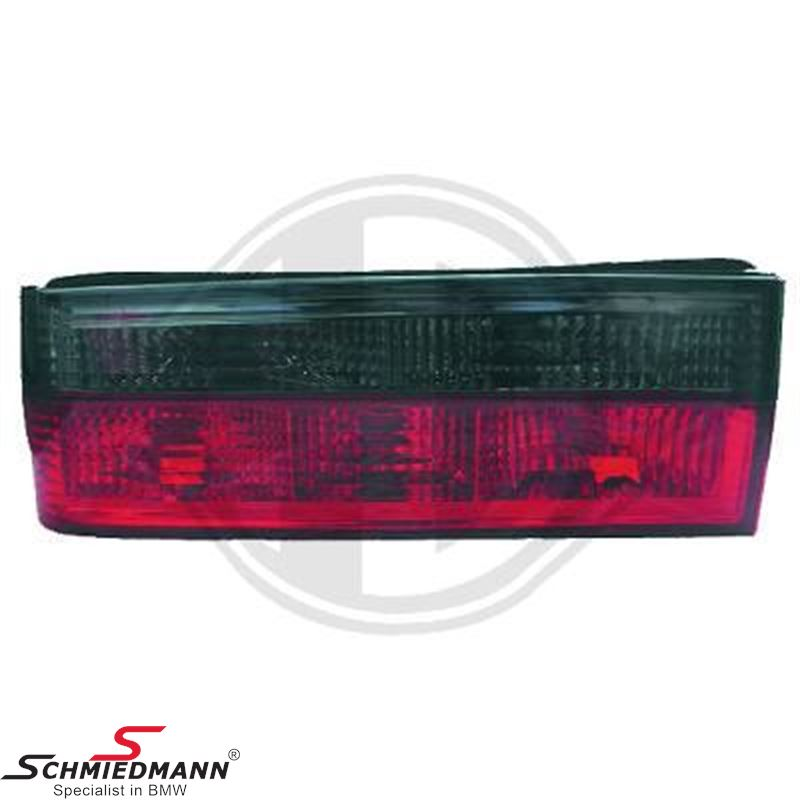 Taillight set red/grey