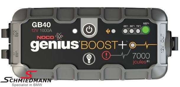 Jump starter NOCO GB40 Genius Boost+ 12V 1000A/7000 Joules