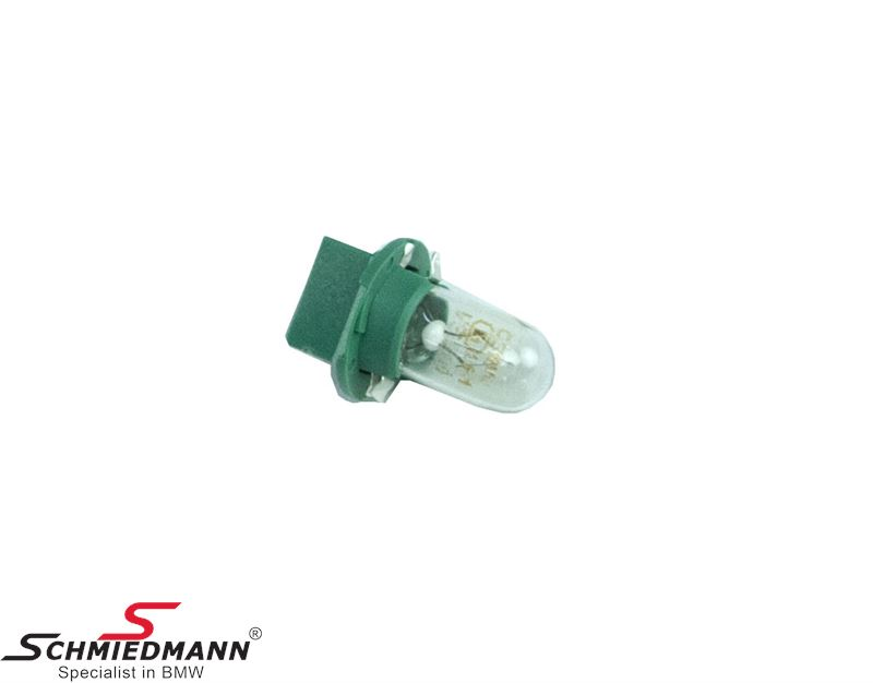 Socket with bulb W3W for instrument cluster