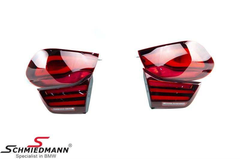 Taillight set -Black Line- Original BMW