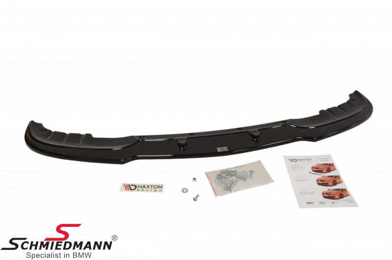 Maxton Design front splitter, glossy black