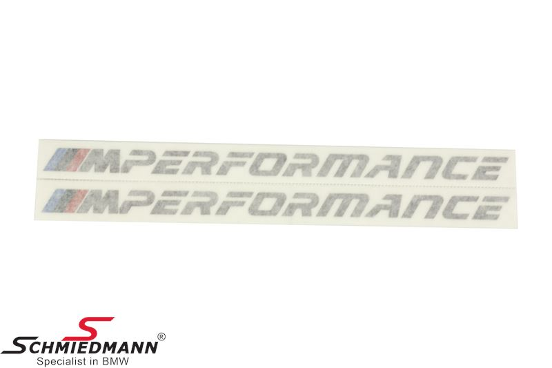Decal kit ///M-Performance (2 pcs.)