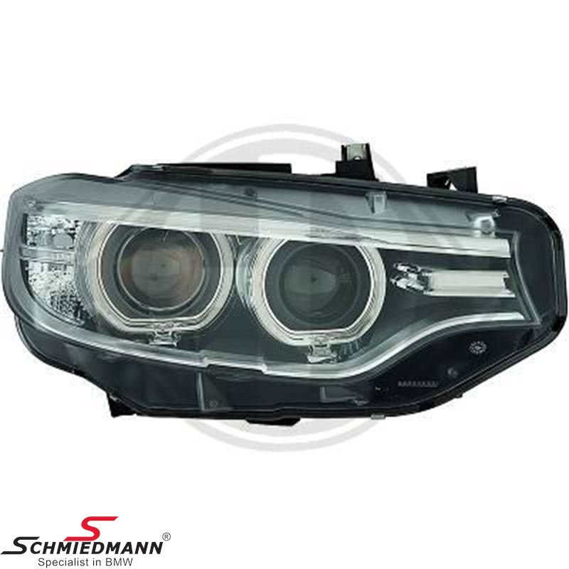 Headlight D1 bi-xenon R.-side (For models without adaptive headlights)