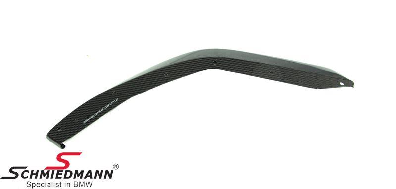 Front splitter ///M-Performance L.-side - genuine carbon