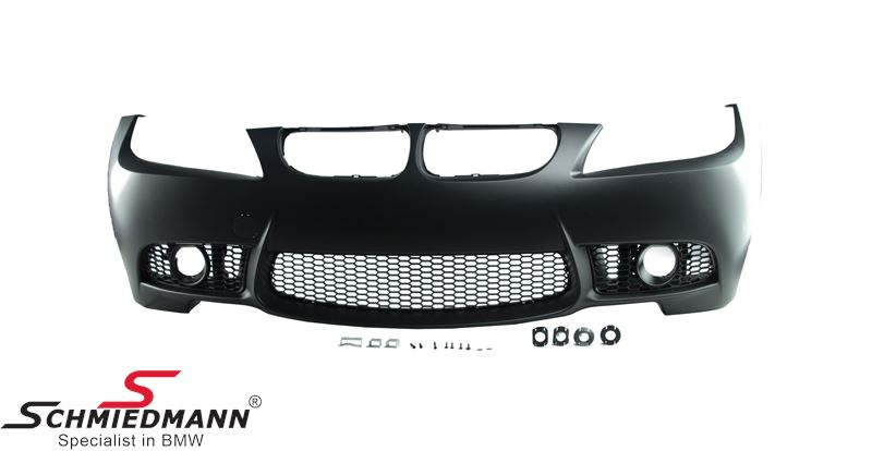 Frontspoiler Motorsport II EVO design -SPECIAL OFFER- (There must be used M-Tech. foglights)
