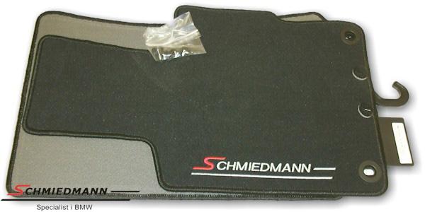 BMW E31 Fussmatten vorne/hinten original Schmiedmann Schwarz