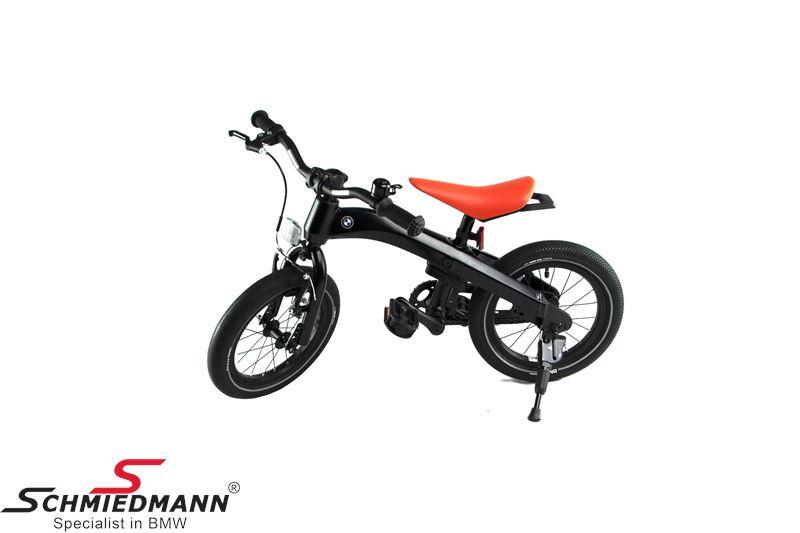"BMW børnecykel 14"" sort"