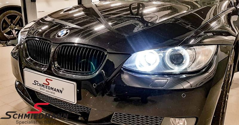 Niere komplett schwarz -original BMW Performance- links