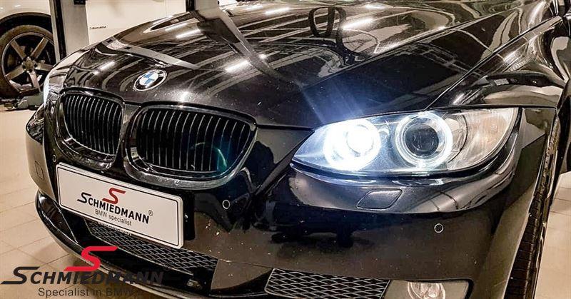 Niere komplett schwarz -original BMW Performance- rechts